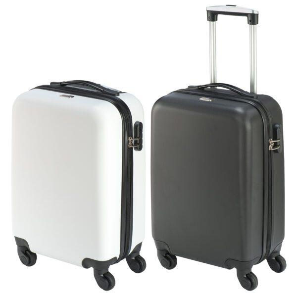 Bodrum S koffer zwart wit