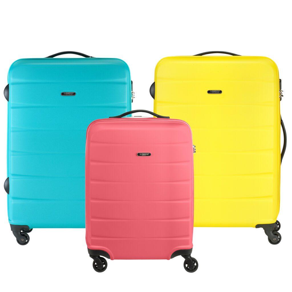 Grenada reiskoffer in felle kleuren