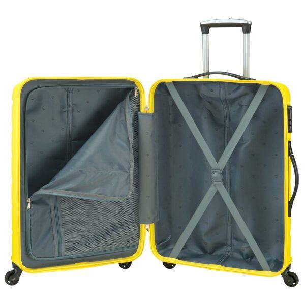 Grenada grote koffer geel