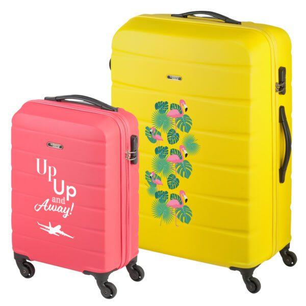 Grenada kleurrijke reiskoffer ontwerpen