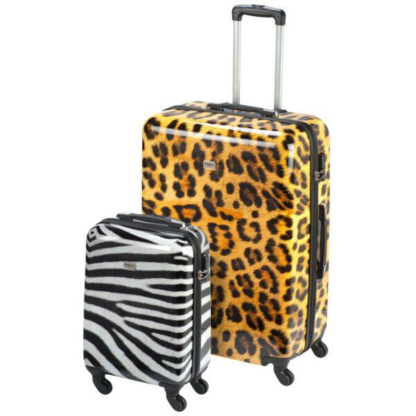 Safari dierenprint reiskoffer