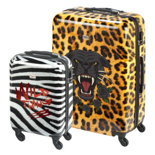 Safari dieren print koffer ontwerpen